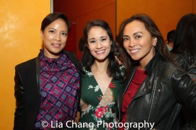 Cecilia Pagkalinawan, Ali Ewoldt and Ernabel Demillo. Photo by Lia Chang