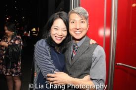 Christine Toy Johnson and GOLD MOUNTAIN Creator Jason Ma. Photo by Lia Chang