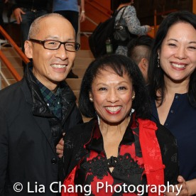 Francis Jue, NAAP Co-founder Baayork Lee and Christine Toy Johnson. Photo by Lia Chang