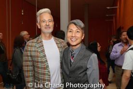 George Hobica and GOLD MOUNTAIN Creator Jason Ma. Photo by Lia Chang