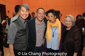 GOLD MOUNTAIN Creator Jason Ma, Director Alan Muraoka, Mia Katigbak and Virginia Wing. Photo by Lia Chang