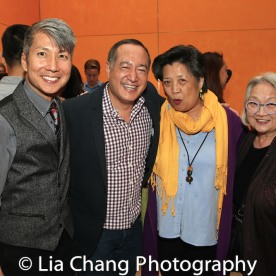 GOLD MOUNTAIN Creator Jason Ma, Director Alan Muraoka, Mia Katigbak and Virginia Wing. Photo by Lia Chang