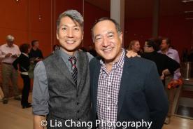 GOLD MOUNTAIN Creator Jason Ma and Director Alan Muraoka. Photo by Lia Chang
