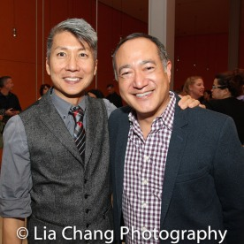 GOLD MOUNTAIN Creator Jason Ma and Director Alan Muraoka. Photo by Lia Chang
