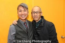 GOLD MOUNTAIN Creator Jason Ma and Francis Jue. Photo by Lia Chang