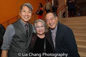 Jason Ma, Virginia Wing and Alan Muraoka. Photo by Lia Chang