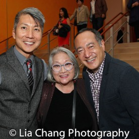 Jason Ma, Virginia Wing and Alan Muraoka. Photo by Lia Chang