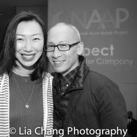 Jo Mei and Francis Jue. Photo by Lia Chang