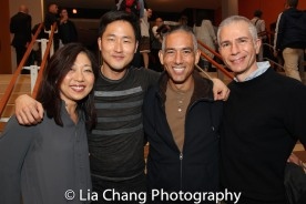 Lainie Sakakura, Daniel May, Andrew Sakaguchi and a guest. Photo by Lia Chang