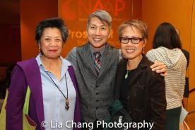 Mia Katigbak, Jason Ma and Nina Zoie Lam. Photo by Lia Chang