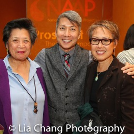 Mia Katigbak, Jason Ma and Nina Zoie Lam. Photo by Lia Chang