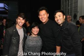 Sam Tatsuo Tanabe, Ann Harada, Kelvin Moon Loh, Marc de la Cruz. Photo by Lia Chang