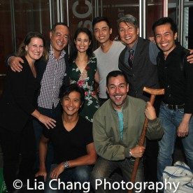(Standing) Kristen Lee Rosenfeld, Alan Muraoka, Ali Ewoldt, Jonny Lee, Jr., Jason Ma and Steven Eng; (front row) Eric Bondoc and Alan Ariano. Photo by Lia Chang