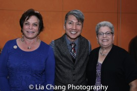 Wendy Gillespie, Jason Ma and Anne Safran Dalin. Photo by Lia Chang