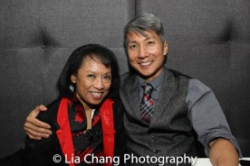 NAAP Co-founder Baayork Lee and GOLD MOUNTAIN creator Jason Ma. Photo by Lia Chang