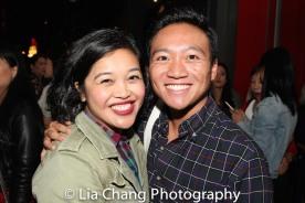 Francine Espiritu and Eric Elizaga. Photo by Lia Chang