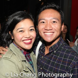 Francine Espiritu and Eric Elizaga. Photo by Lia Chang