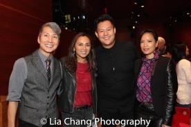 Jason Ma, Ernabel Demillo, Kelvin Moon Loh and Cecilia Pagkalinawan. Photo by Lia Chang