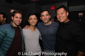 Justin Anthony Long, Jonny Lee, Jr., Conrad Ricamora and Kelvin Moon Loh. Photo by Lia Chang