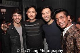 Sam Tatsuo Tanabe, Daniel May, Marc de la Cruz and Jon Viktor Corpuz. Photo by Lia Chang