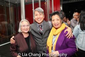 Virginia Wing, Jason Ma and Mia Katigbak. Photo by Lia Chang