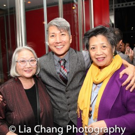 Virginia Wing, Jason Ma and Mia Katigbak. Photo by Lia Chang