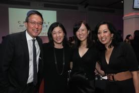 Alexander Tsui, Angie Wang, Susan Kim Tsui and Risa Morimoto. Photo by Lia Chang