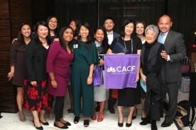 Angie Wang, Aiyoung Choi, Wayne Ho and guests. Photo by Lia Chang
