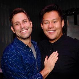 Anthony Fett and Kelvin Moon Loh. Photo by Lia Chang