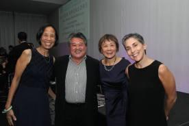 Carolyn Sauvage-Mar, Ed Lai, Joyce Yu and Maria Mottola. Photo by Lia Chang