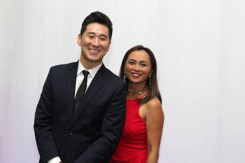 CeFaan Kim, Reporter on WABC-TV Channel 7 Eyewitness News and Ernabel Demillo, Reporter/Host of