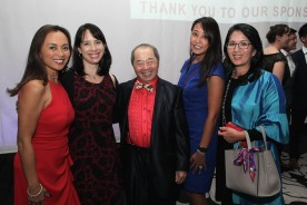 Ernabel Demillo, Jessica Lee, Larry Lee, Jennifer Yeun, Minnie Roh. Photo by Lia Chang