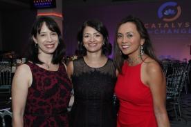 Jessica Lee, Sayu Bhojwani and Ernabel Demillo. Photo by Lia Chang