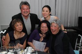 Joyce Yu, Ed Lai, Vivian Tseng, Bomsinae Kim and Aiyoung Choi. Photo by Lia Chang