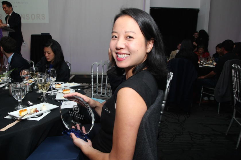 2017 Catalyst for Change honoree Suyin So. Photo by Lia Chang