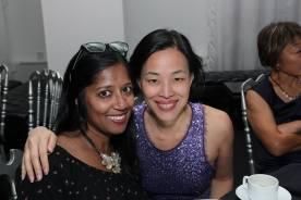 Tuhina De O'Connor and Lia Chang. Photo by Lia Chang