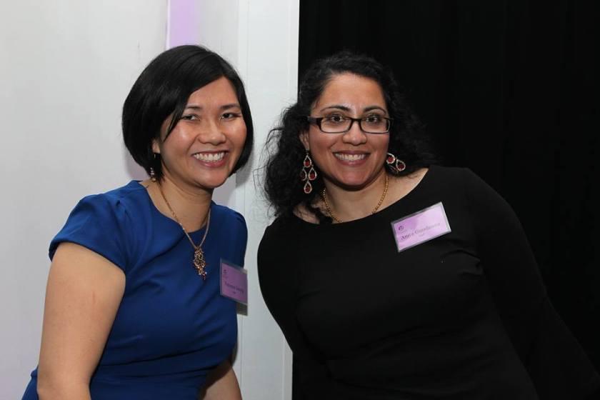 CACF Co-Executive Directors Vanessa Leung and Anita Gundanna. Photo by Lia Chang