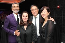 Vishaan Chakrabarti, Maria Alataris, Alexander Tsui and Susan Kim Tsui. Photo by Lia Chang