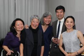 Vivian Tseng, Aiyoung Choi, June Jee, Michael Lee and Bomsinae Kim. Photo by Lia Chang
