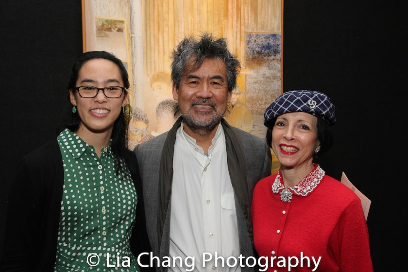 Lauren Yee, David Henry Hwang, Linda Zagaria. Photo by Lia Chang