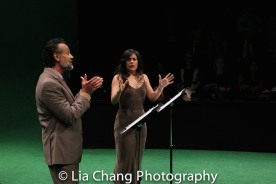 Bernard White and Nadine Malouf. Photo by Lia Chang