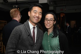 Daniel K. Isaac and Lauren Yee. Photo by Lia Chang