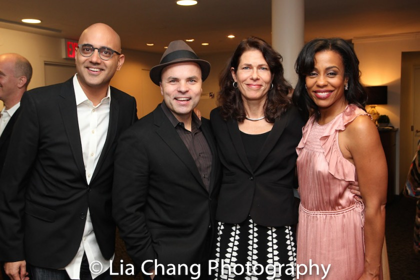 Honoree Ayad Akhtar, J.T. Rogers, Paige Evans, Karen Pittman. Photo by Lia Chang