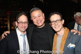 Garth Kravits, Chay Yew and Ben Pesner. Photo by Lia Chang