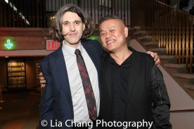 Lucas Hnath and Chay Yew. Photo by Lia Chang
