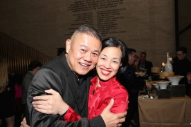 Chay Yew and Lia Chang. Photo by Garth Kravits