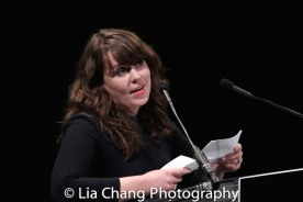 Sarah Lunnie, Literary Director, Playwrights Horizons. Photo by Lia Chang