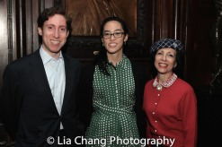 David Glanstein, Lauren Yee and Linda Zagaria. Photo by Lia Chang