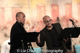 Francis Jue and Ned Eisenberg. Photo by Lia Chang