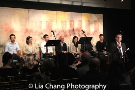 Joe Ngo, Jennifer Lim, Daniel K. Isaac, Jeena Yi, Ned Eisenberg, Tobias C. Wong and Michael Parva. Photo by Lia Chang